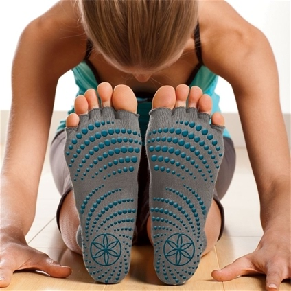 Toeless Yoga Socks