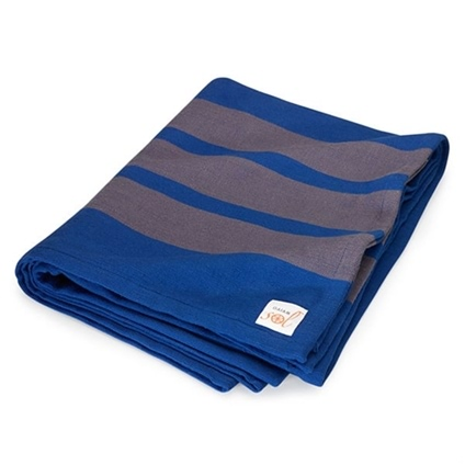 Sol Yoga Blanket Blue/Grey
