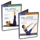 Pilates Beginners & Intermediate DVDs