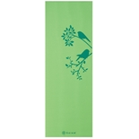 Bird in Hand Green Yoga Mat