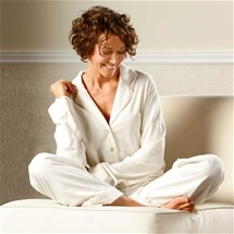 Organic Cotton Piped Pyjamas