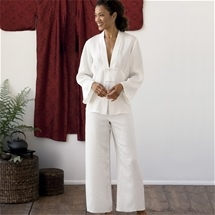 Long Sleeve Chi Silk Pyjamas