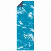 Essential Support Cyan Marble 4.5mm Yoga Mat