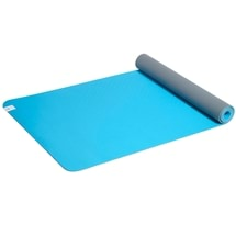 Soft Grip Sky/Grey 4mm TPE Yoga Mat and Sling
