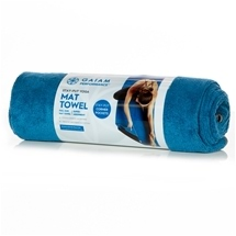 Gaiam Performance Yoga Stay-Put Mat Towel