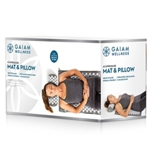 Gaiam Performance Acupressure Mat & Pillow