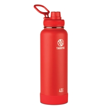 Takeya Actives Insulated Steel Bottle Fire 1200ml