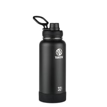 Takeya Actives Insulated Steel Bottle Onyx 950ml