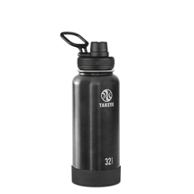 Takeya Actives Insulated Stainless Steel Bottle Slate 950ml