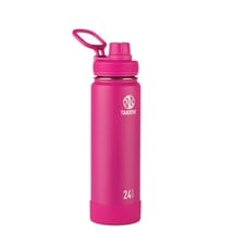 Takeya Actives  Insulated Steel Bottle Fuschia 710ml