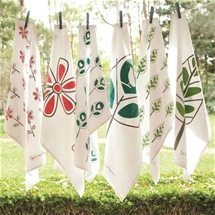 Organic Cotton Tea Towels and Aprons