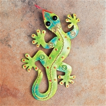 Pressed Metal Gecko
