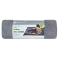 Gaiam Yoga Fitness Towel Grey Teal_27-72409_7