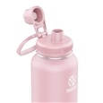 Takeya Actives Insulated Steel Bottle Blush 1200ml Spout Lid_51012_1