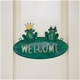 Pressed Metal Welcome Sign_G-FWS_1
