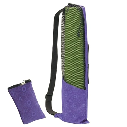 47d7ab7eec ... Collapsible Yoga Mat Bag - Orange 05-51847 1