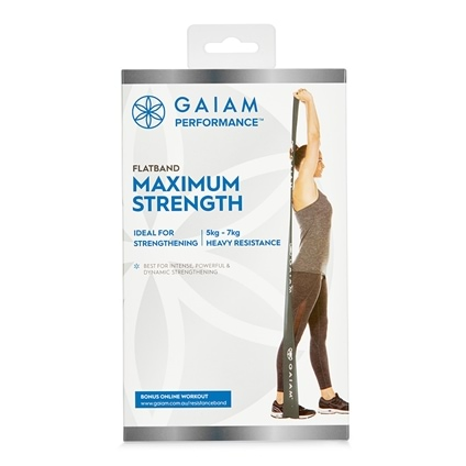 Gaiam Performance Flatband Maximum Strength