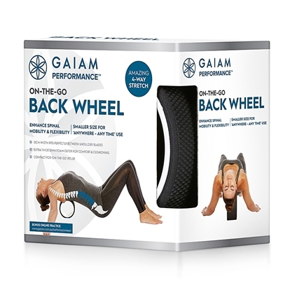 Gaiam Performance On The Go Back Wheel