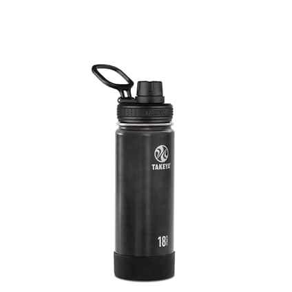 Takeya Actives Insulated Steel Bottle Slate 530ml